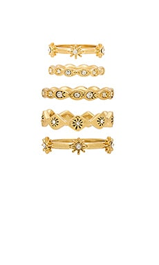 Revel Starburst Ring Set