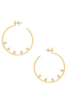Posie Pave Statement Hoops
