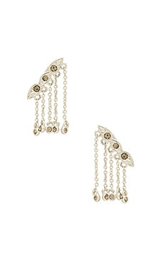 Posie Dangle Crawler Earrings