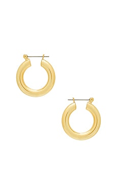 The Baby Amalfi Tube Hoops Luv AJ $45