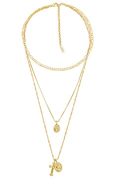 x SABO LUXE The Isidore Cross Charm Necklace Luv AJ $95