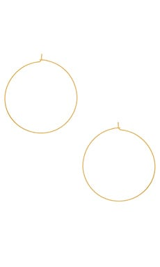 The Capri Wire Hoops Luv AJ $35 BEST SELLER