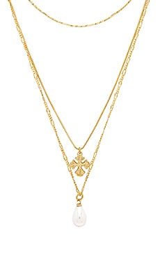 Nouveau Cross With Freshwater Pearl Charm Necklace Luv AJ $51