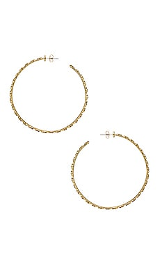 The Pave Star Hoops Luv AJ $54