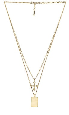 The Diamond Kite Dog Tag Necklace Luv AJ $80