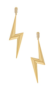 Bolt Statement Earrings Luv AJ $40