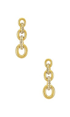 The Pave Loop Studs Luv AJ $85
