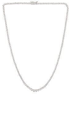 Ballier Bezel Tennis Necklace Luv AJ $175