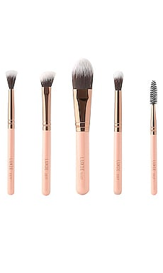 Rose Gold Travel Essentials Set Luxie $33 NEW ARRIVAL