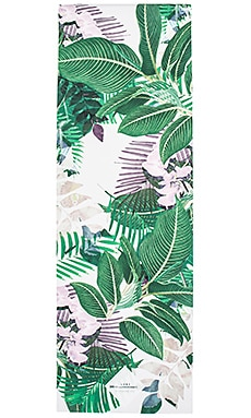 La Vie Boheme Yoga Palm Leaf Yoga Mat in Fiji