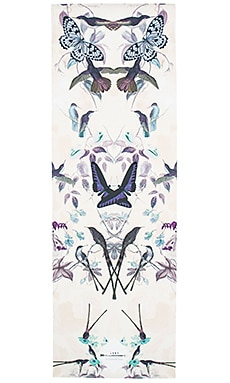La Vie Boheme Yoga Butterfly Yoga Mat in Monarch