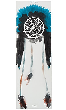 Dreamcatcher Yoga Mat in Blue