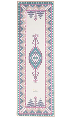 La Vie Boheme Yoga Marrakesh Yoga Mat in Pink
