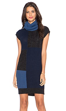 Love Moschino Sweater Dress in Navy