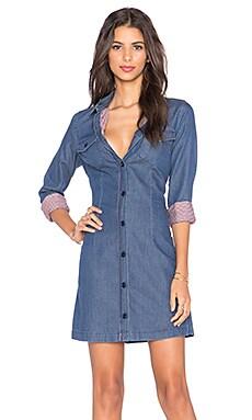 Love Moschino Shirt Dress in Denim