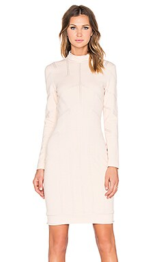Love Moschino Seamed Dress in Blush