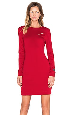Love Moschino Long sleeve Dress in Red
