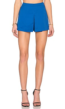 Love Moschino Pleated Skort in Blue