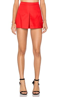 Jupe-Short en Rouge