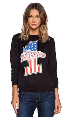 Love Moschino #1 Sweatshirt in Black