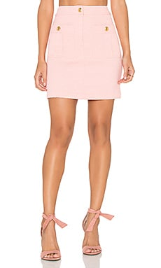 Love Moschino Double Pocket Skirt in Light Pink