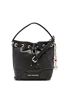 Love Moschino Shoulder Bag in Black