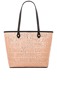 Love Moschino Tote Bag in Gold