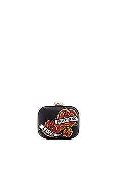 Love Moschino Evening Bag in Black