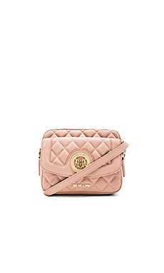 Love Moschino Quilted Crossbody in Pink