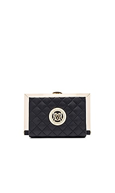 Love Moschino Box Clutch in Black