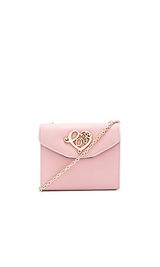 Love Moschino Chain Crossbody in Pink