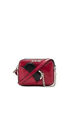 Heart Camera Bag in Red