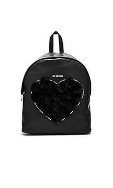 Heart Pom Pom Backpack