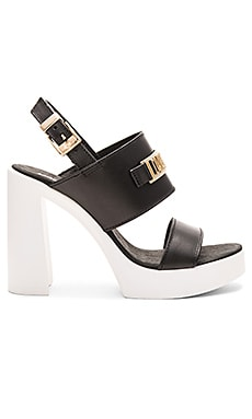 Love Moschino Love Heel in Black