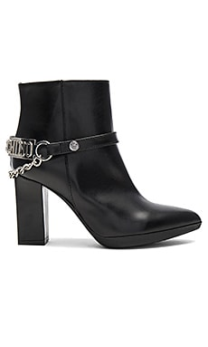 High Heel Ankle Boot in Black