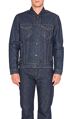 LEVI'S Premium The Trucker in Domingo Rinse