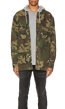 Hooded Jackson Overshirt LEVI'S Premium $63