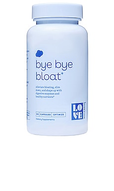 SUPPLÉMENT BYE, BYE BLOAT Love Wellness $25 BEST SELLER