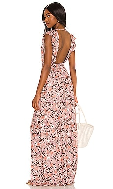 Ditsy Fortunata Long Dress Maaji $138 BEST SELLER