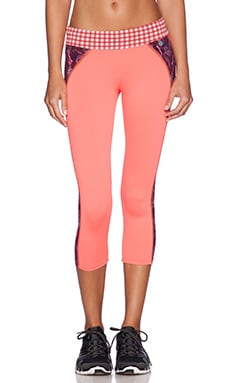Maaji Crop Legging en Marsipan Wheel