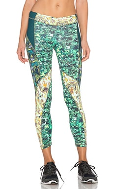 Maaji Lime-Pepper Garden Pant in Lemon Balm