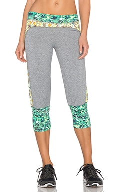 Maaji Lime-Pepper Garden Yoga Pant in Blazing Palm