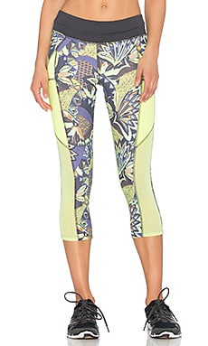 Maaji Lemon Route 55 Capri Legging in Hike Pike