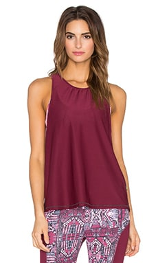 Maaji Garden Buzz Tank in Crimson Player