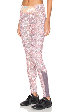 Maaji Racer Folk Legging en Sunset