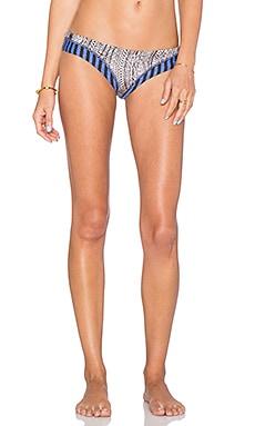 Maaji Contrast Bikini Bottom in Beaded Beat