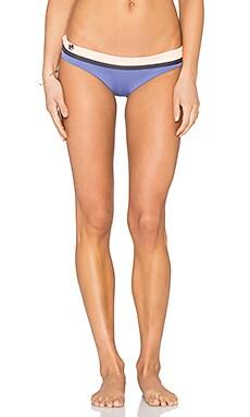 Maaji Pitch Blue Timbers Bikini Bottom in Purple & Coral