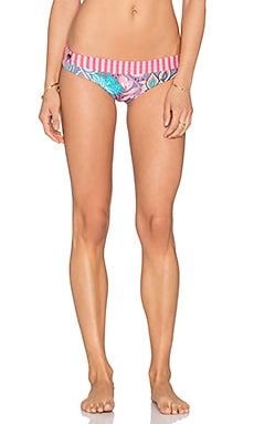 Utopia Visor Bikini Bottom in Purple & Pink Multi