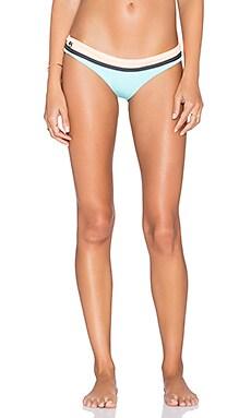 Maaji Colorblock Bikini Bottom in Pale Turquoise Tumbers