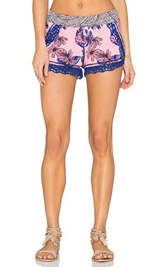 Maaji Periwinkle Switchback Short in Pink & Purple Multi